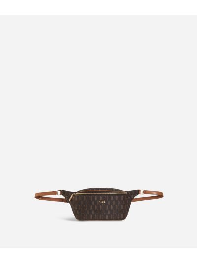 Monogram Belt Bag Dark Buff