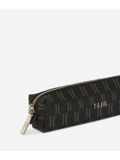 Monogram Pencil Case Black