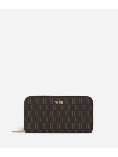 Monogram Zip-around Wallet Dark Buff