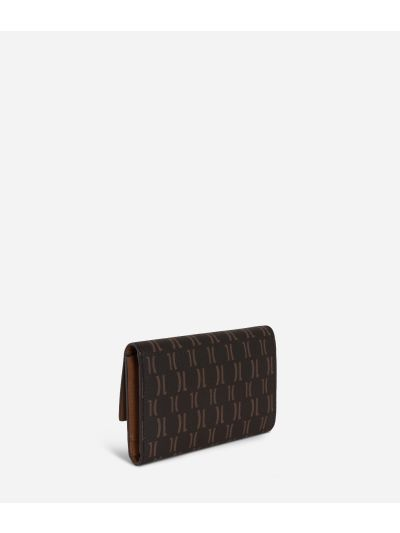 Monogram Small Wallet Dark Buff