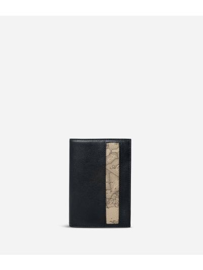 Passport cover Geo Tortora fabric trims