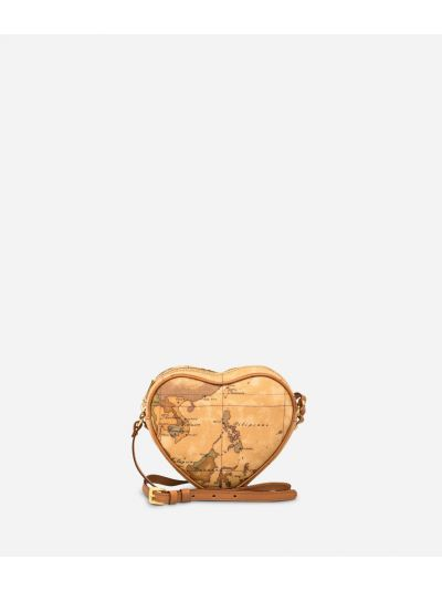 Geo Classic Heart mini crossbody bag