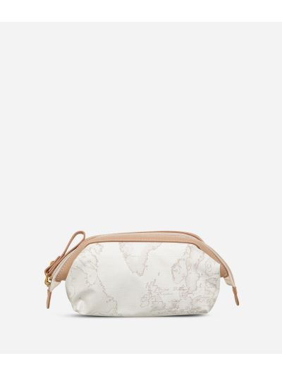 Geo Soft White Small beauty case