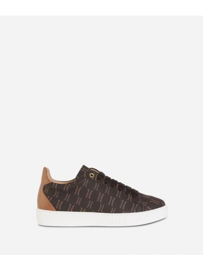 Monogram Sneakers Dark Buff