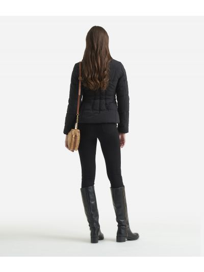 Basic padded jacket Black
