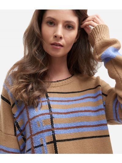 Mohair blend sweater Beige