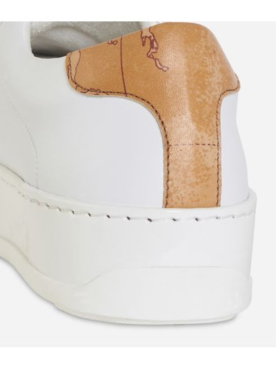 Donnavventura leather sneakers White