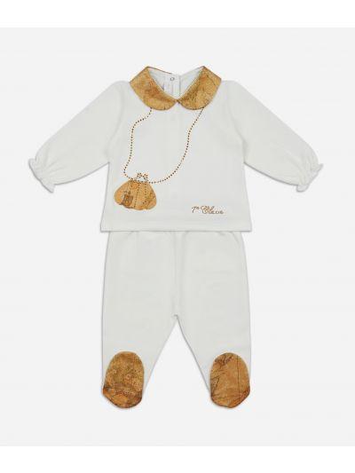 Baby clothing set Geo shiny