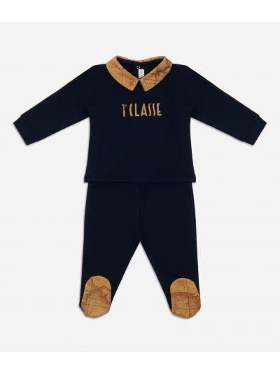 Baby clothing set with maxi logo