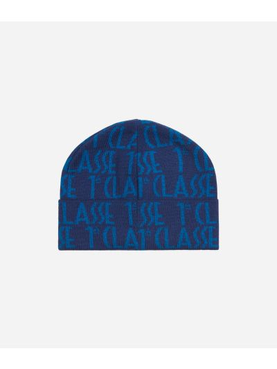 All-over Logo BeanieBlue