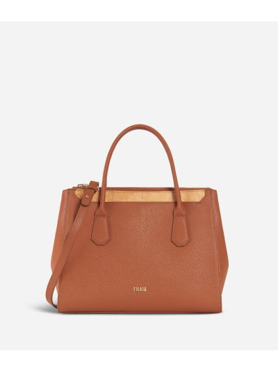 Sky City Medium Handbag Walnut