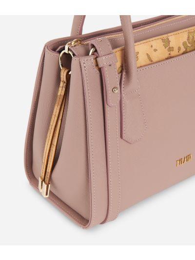 Sky City Small Handbag  Boreal Pink