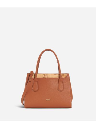 Sky City Small Handbag Walnut