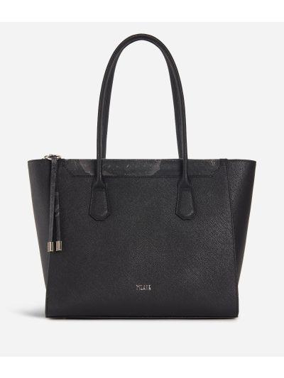 Sky City Shopping Bag Black and Geo Night Black
