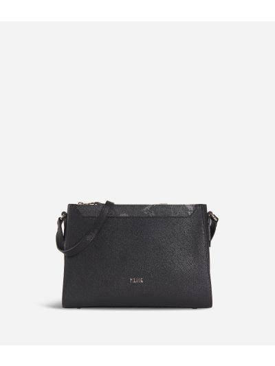 Sky City Crossbody bag Black and Geo Night Black