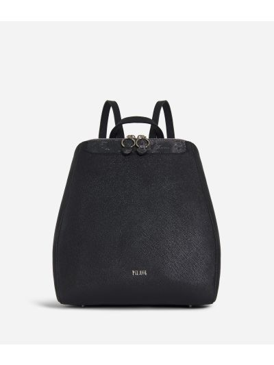 Sky City Backpack Black and Geo Night Black
