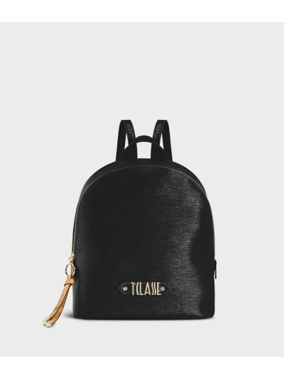 Winter Smile Backpack Black