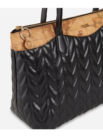 Moonlight Shopping bag Black