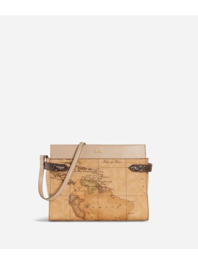 Fantasy Geo Crossbody Bag Cream