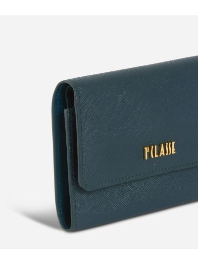 Sky City Small Wallet Teal