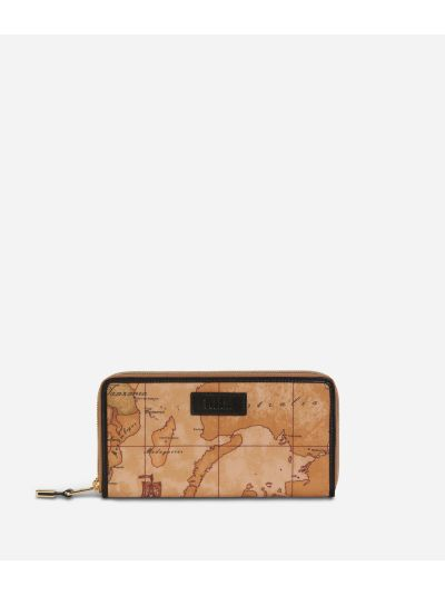 Soft Wood Ziparound wallet Black