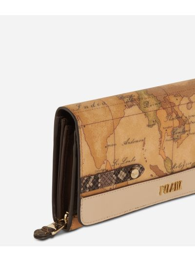 Fantasy Geo Wallet Cream
