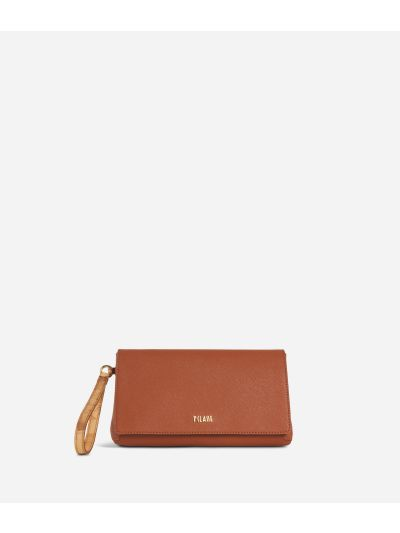 Sky City Clutch Walnut