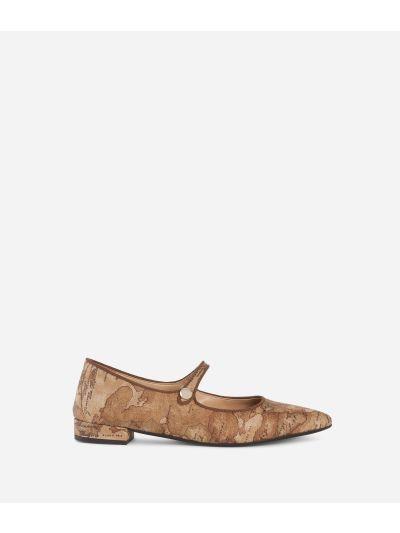 Geo Bronzo pointed ballet flat Bronze