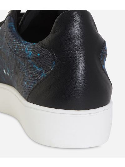 Magic Forest print sneakers Blueberry