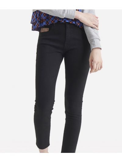 5-pockets skinny trousers Black
