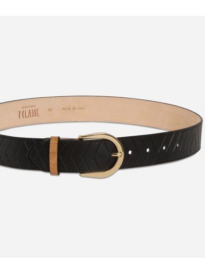 Starlight Line Belt Black
