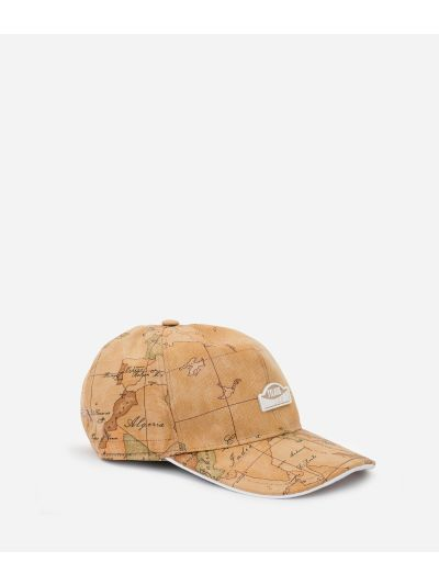Donnavventura baseball hat with Geo Classic print White