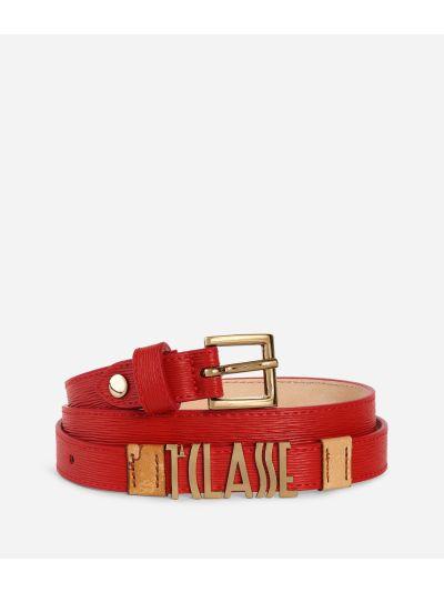 Voyage Smile Belt Red