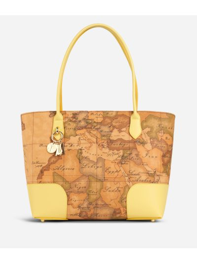 Geo Doré Shopping Bag Yellow