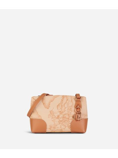 Geo Pesca Crossbody Bag Orange