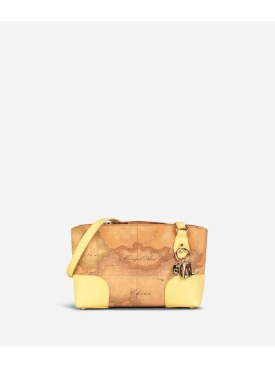 Geo Doré Crossbody Bag Yellow