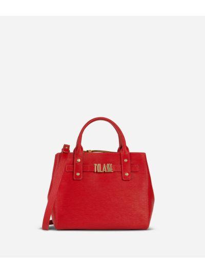 Voyage Smile Small Handbag Red