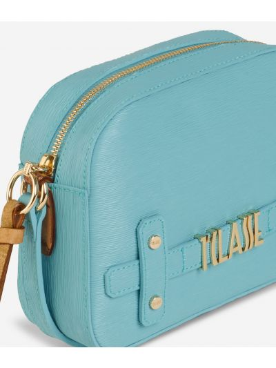 Voyage Smile Crossbody Bag Light Blue
