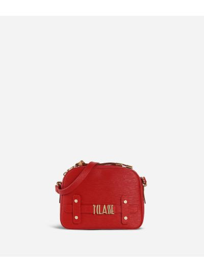 Voyage Smile Crossbody Bag Red