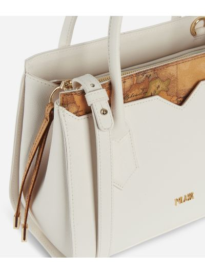 Medina City Small Handbag White