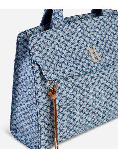 Mosaic Handbag Blue