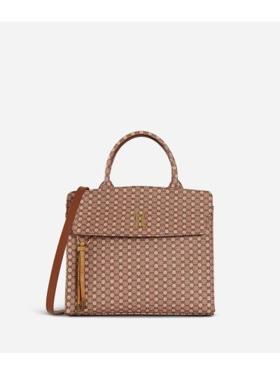 Mosaic Handbag Brown