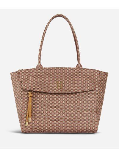 Mosaic Small Shopping Bag Brown