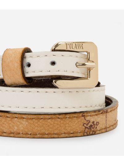 Saffiano Bracelet White