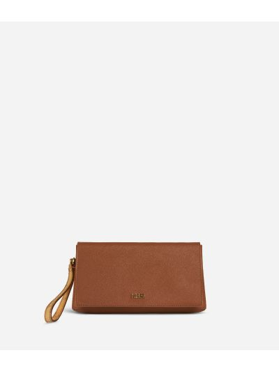 Medina City Clutch Brown