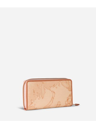 Geo Pesca Zip-around Wallet Orange