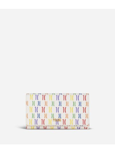 Monogram Rainbow Portafoglio Multicolor