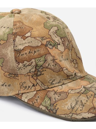 Baseball hat with Geo Classic print
