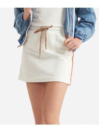 Donnavventura Mini-skirt in fleece White