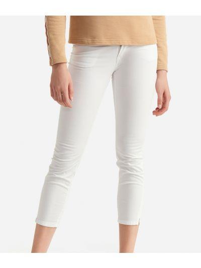 Donnavventura 5-pockets pants in stretch cotton White